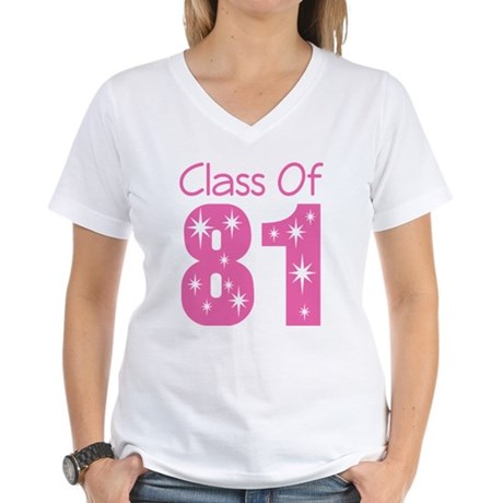Class of 1981 Women's V-Neck T-Shirt