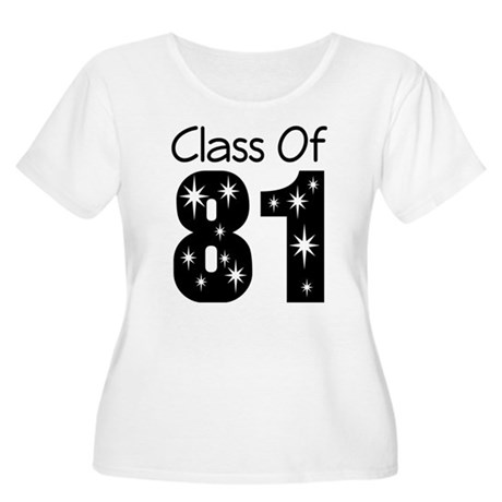 Class of 1981 Women's Plus Size Scoop Neck T-Shirt