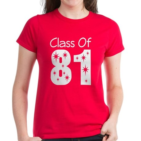 Class of 1981 Women's Dark T-Shirt
