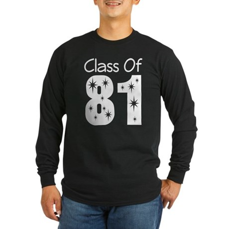 Class of 1981 Long Sleeve Dark T-Shirt