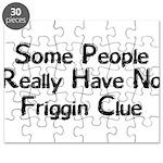 No Friggin Clue Puzzle