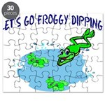 Froggy Dipping Puzzle