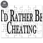 Rather Be Cheating Puzzle