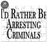 Rather Arrest Criminals Puzzle
