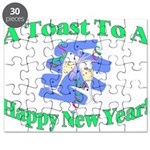 New Year's Toast Puzzle