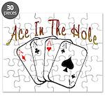 Ace Hole Puzzle