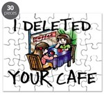 Deleted Cafe Puzzle