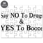 Yes To Booze Puzzle