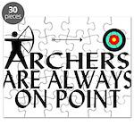 Archers On Point Puzzle