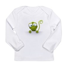 Lazy Lizard Life Long Sleeve Infant T-Shirt