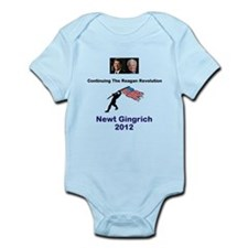 Newt Reagan Revolution Infant Bodysuit