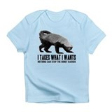 Honey Badger Speaks Infant T-Shirt