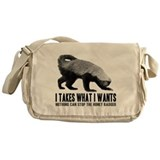 Honey Badger Speaks Messenger Bag