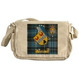Clark Scottish family Name Messenger Bag