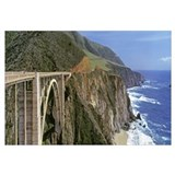 California, Big Sur, Bixby Creek Bridge