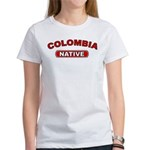 Colombia Native Women's T-Shirt
