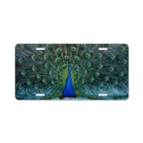 Peacock 6025 - Aluminum License Plate