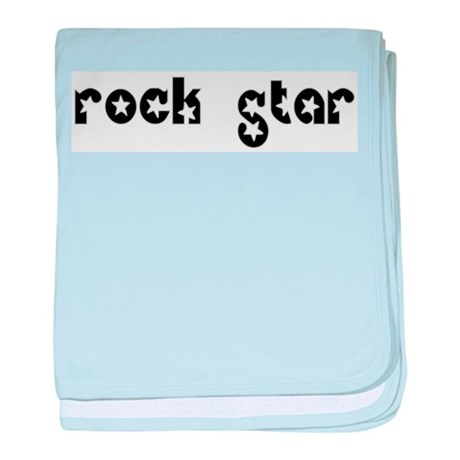 Rock Star baby blanket