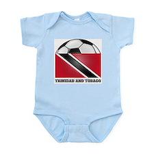 Trinidad and Tobago Soccer Infant Creeper