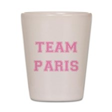 Team Paris Light Pink Shot Glass