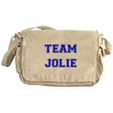 Team Jolie Blue Messenger Bag