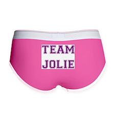 Team Jolie Purple Women's Boy Brief