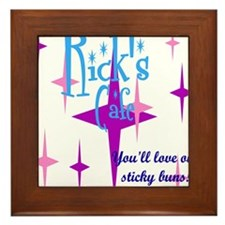 Rick's Cafe Framed Tile