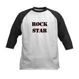 Rock Star Black Tee