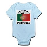 Portugal Soccer Infant Creeper