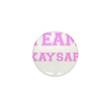 Team Kaysar Pink Mini Button