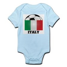 Italy Soccer Infant Creeper