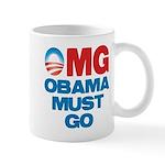OMG: Obama Must Go Mug