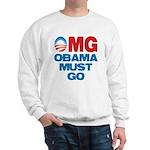 OMG: Obama Must Go Sweatshirt
