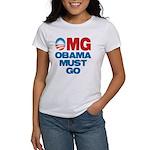 OMG: Obama Must Go Women's T-Shirt