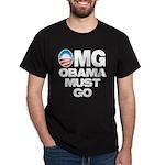 OMG: Obama Must Go Dark T-Shirt