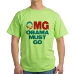 OMG: Obama Must Go Green T-Shirt