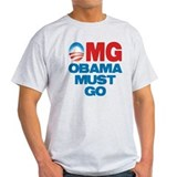 OMG: Obama Must Go T-Shirt