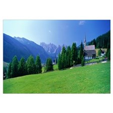 Country Churches near Dachstein Gosau Austria
