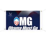 OMG: Obama Must Go Banner