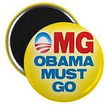 OMG: Obama Must Go Magnet
