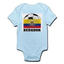 Ecuador Soccer Infant Creeper