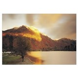 UK, Great Britain, Lake District, Ullswater, Sunli