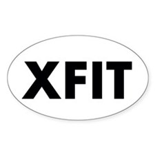 Funny Cross fit Decal