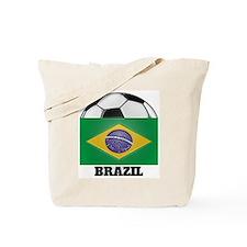 Brazil Soccer Tote Bag