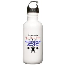 Weightlifting Addict Water Bottle