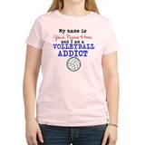 Volleyball Addict T-Shirt