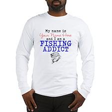 Fishing Addict Long Sleeve T-Shirt