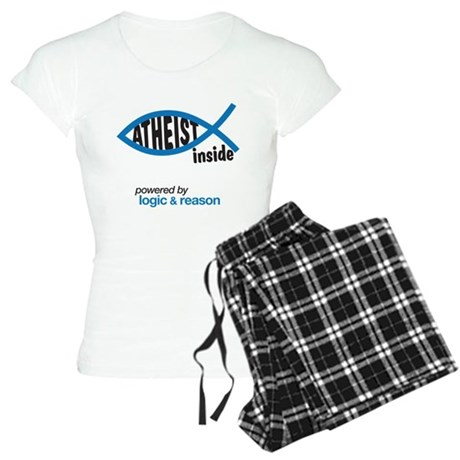 atheist inside Women's Light Pajamas