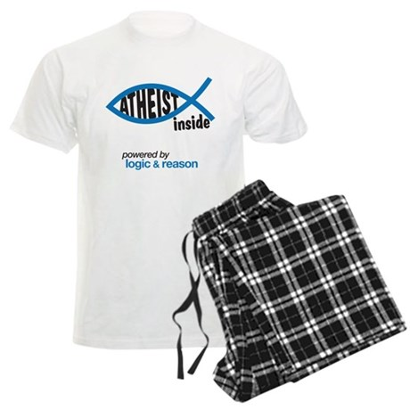 atheist inside Men's Light Pajamas