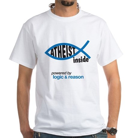 atheist inside White T-Shirt